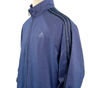 adidas Jackets & Coats - Adidas Jacket Full Zip Tricot 3-Stripe Sleeves